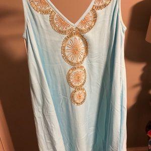 Stunning Lilly Pulitzer light blue dress